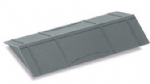 R-36 Salt Wagon Roof, black plastic moulding